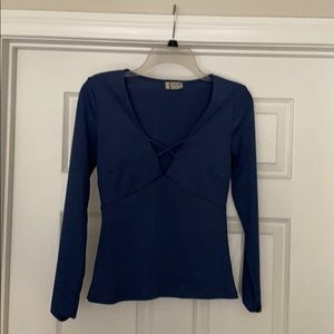 {Free People} Intimately gently worn blue top